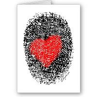 Fingerprint with Heart