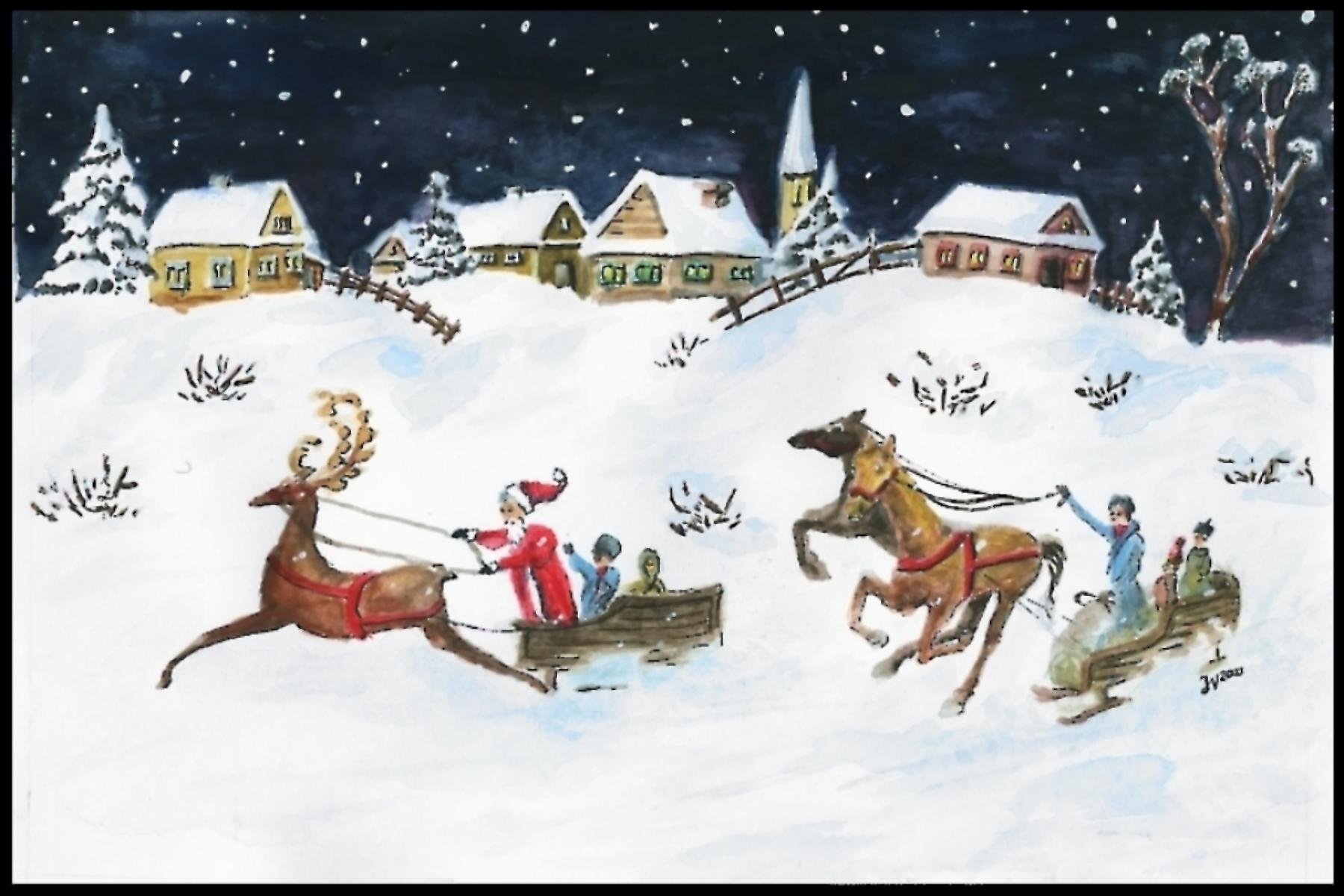 Santa Image - Old Fashioned
