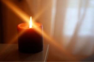 Wayside Inn candle