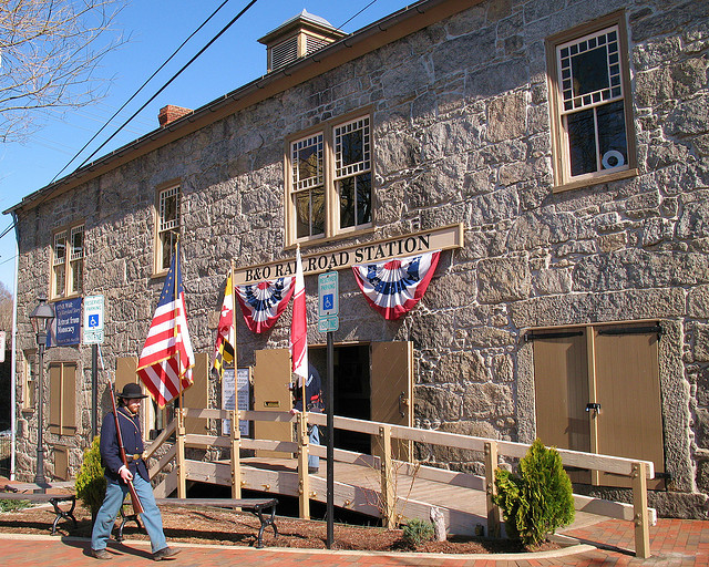 """Ellicott City B&O Railroad Station Museum""的图片搜索结果"