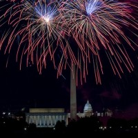 Fourth of July in Washington DC