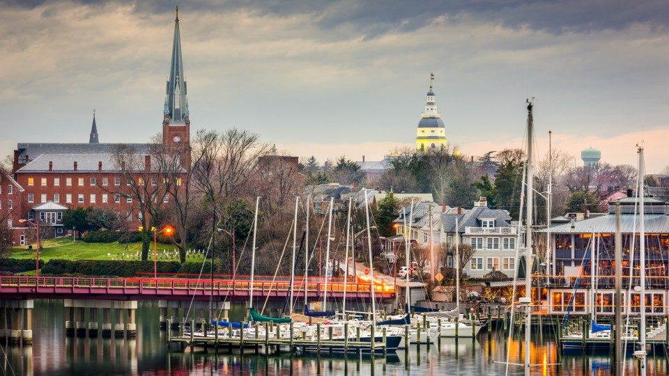 time in annapolis md
