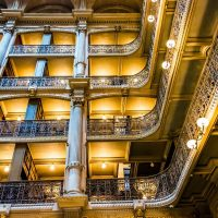 Peabody Library Johns Hopkins University Baltimore